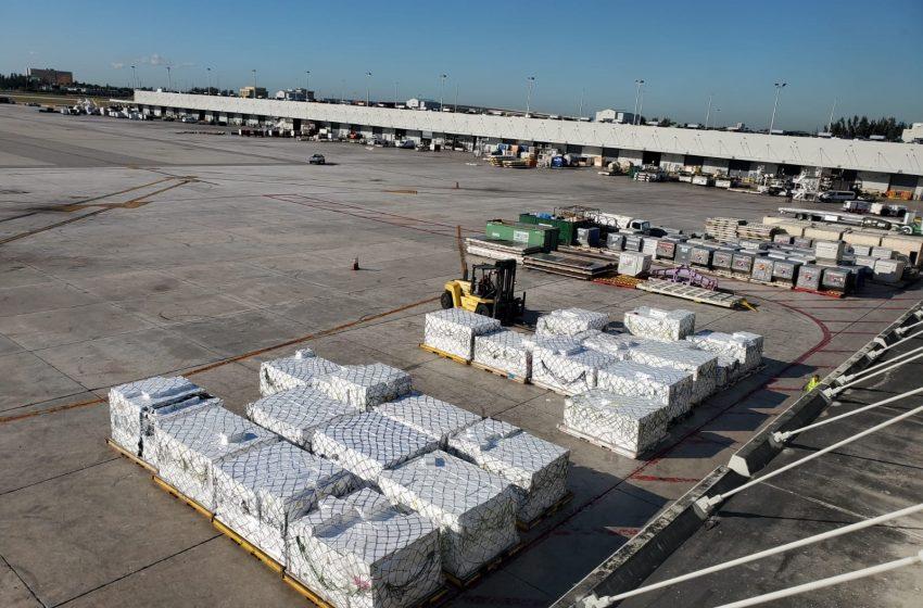 AquaChile carga un Jumbo exclusivo con exportaciones a Miami