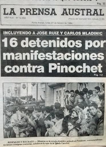 A 36 años del «Puntarenazo», cuando a Pinochet le gritaron «asesino» en la cara