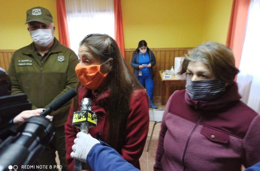 «Lo importante es cuidarnos y prevenir en esta pandemia y en ese sentido van las sanitizaciones de juntas de vecinos y viviendas»