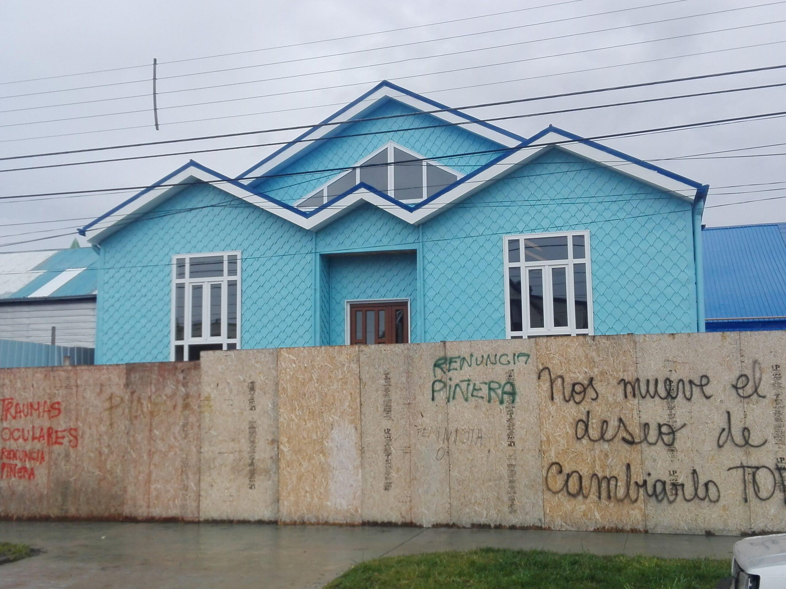 Luego de un año, directiva del Club Natales pudo visitar instalaciones del recinto y conocer de su estado y situación