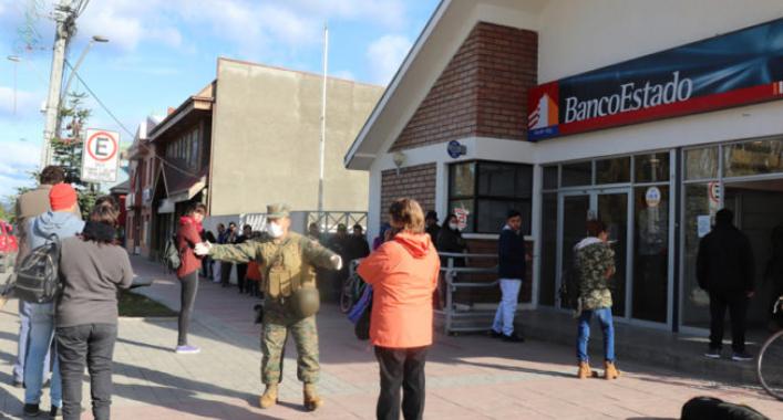 Cierran sucursal a atención de público. Trabajador de BancoEstado Natales dio positivo a test coronavirus