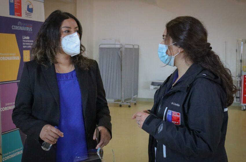 Con éxito se realizó la segunda fase del proceso de vacunación en Puerto Natales