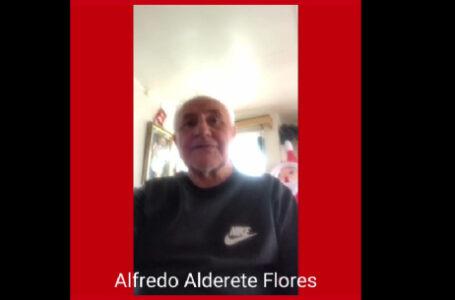 Alfredo Alderete: «Lo que yo dije lo mantengo, eso fue una declaración pública»