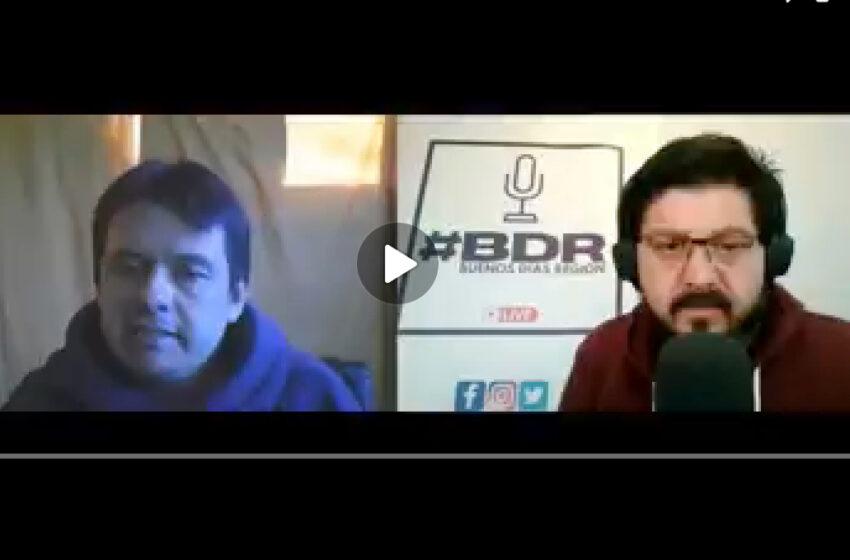 Alejandro Sobarzo en entrevista con BDR, reconoció la existencia de triangulaciones de dineros para beneficiar campañas políticas