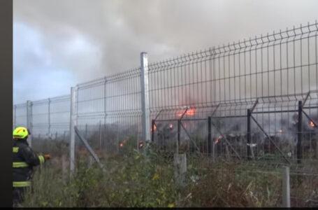 Era previsible: focos de incendio en el vertedero municipal continúan activos