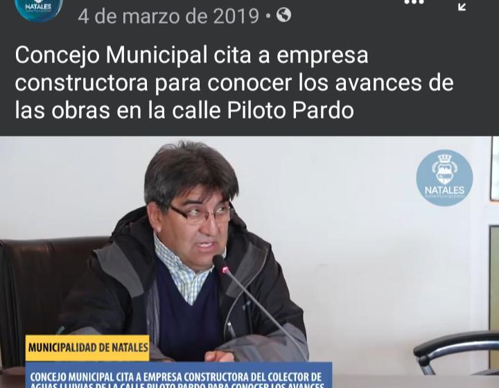Contraloría realizó diversas observaciones al colector de aguas lluvias de calle Piloto Pardo las cuales no fueron subsanadas