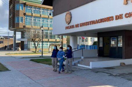 PDI Puerto Natales detiene a una mujer por el delito de robo con intimidación de carácter flagrante