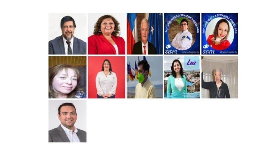 Sondeo. Elección Parlamentaria Magallanes